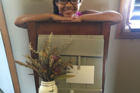 A not-so-typical third-grader uses her crafting skills for a cause