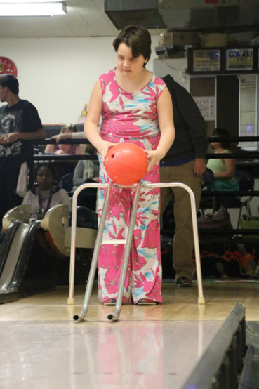 Special needs bowling league: Pin Pals