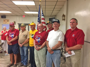 HONOR FLIGHT VETS SPEAK TO CATHOLIC WOMENS GROUP
