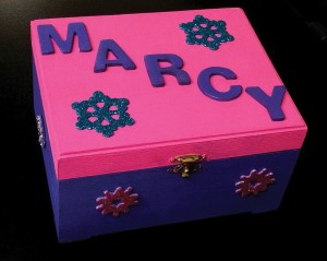 Photo/Special to The Source Newspaper The special box that Roger Ezard made for Marcy Patterson still remains with her at her office. Roger Ezard will not be forgotten.