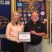 Devon Garrett receives scholarship