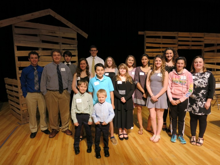 Twenty-nine students honored at Mayor's Student Volunteer awards