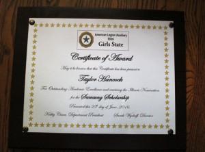 T award