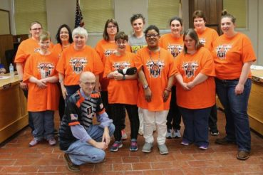 The City of Beardstown recently honored their outstanding Special Olympic Teams.