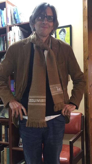 My Bolivian scarf