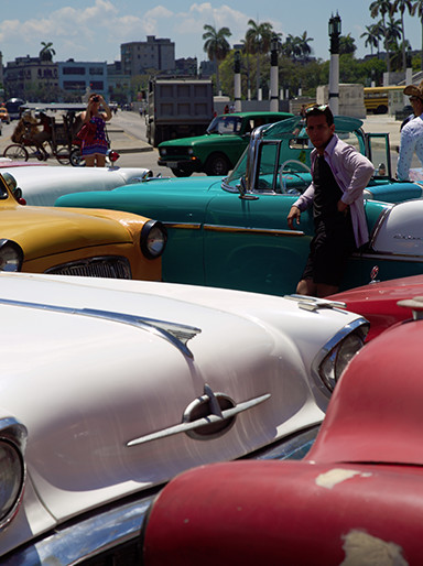 Classic American cars were ubiquitous in Cuba. And the people that own and drive them are just as colorful as the cars themselves.