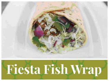 Fiesta Fish Wraps