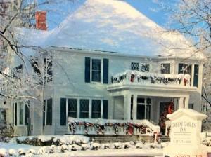 Greene Gables Inn during winter