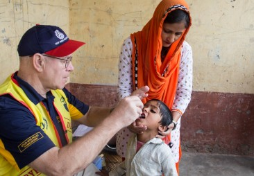 Rotary International Polio Vaccines