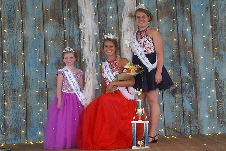 Meet the 2017 pageant winners of Little Miss, Jr. Miss and Miss Winchester. 2017 Little Miss Winchester (left) is Ainsley Freeman, the daughter of Joel and Trista Freeman. Miss Winchester (center) is Isabella Cox, a 2017 graduate of Winchester High School and the daughter of Jill and Tony Cox. Jr Miss Winchester (right) is Josie Clayton, the daughter of Jessica and Mark Clayton.