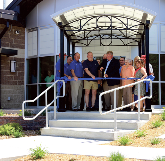 Water Plant Ribbon Cutting