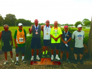 Senior athlete is a major competitor in the Senior Olympic Games