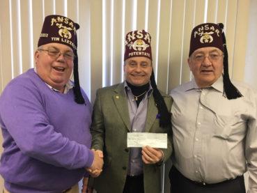 Shrine Club's 2017 donations