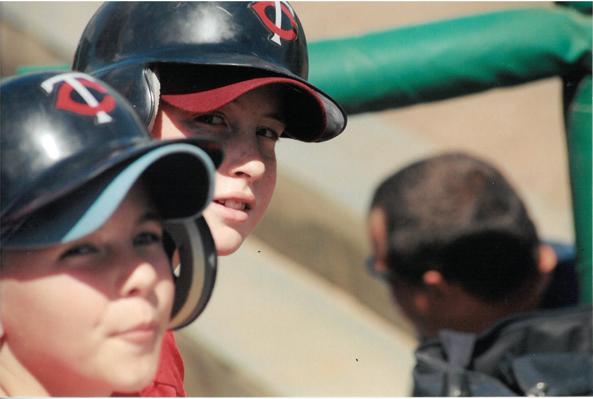 That time I got to be the Minnesota Twins' bat boy