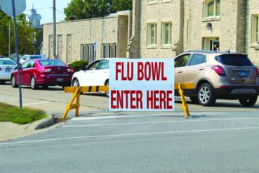 Drive-thru flu shot clinic offered at The JHS Bowl