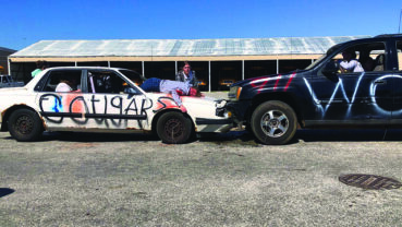 Crash reenactment drives home safety message