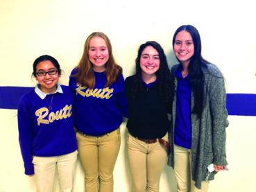 Routt Catholic High School announces four Illinois State Scholars