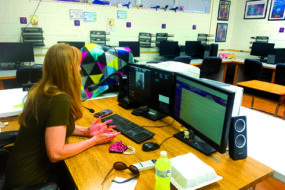 Routt Catholic High School students use 3D printing to deliver prosthetic hand