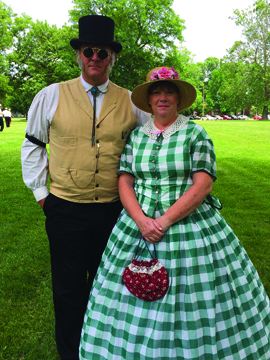 """Photos/Submitted to The Source Allen """"Honest Al"""" Stare and his lovely wife, Donna, pose while in attendance at the 2019 Jacksonville Vintage Cup."""