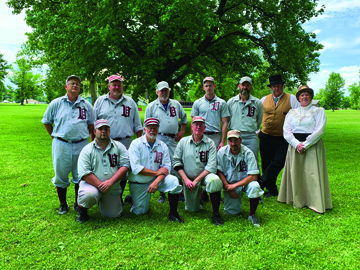 Photo/Submitted to The Source The Vermilion Voles out of Danville played in the Jacksonville Vintage Cup in 2019 and will be returning for this year's event.