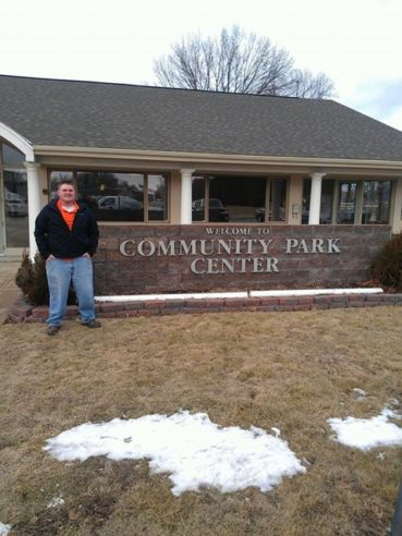 Fletcher as Parks and Lakes Intern